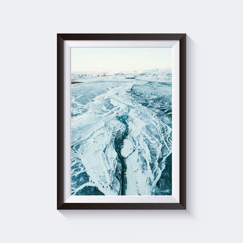 Iceland Black Sand Beach Print