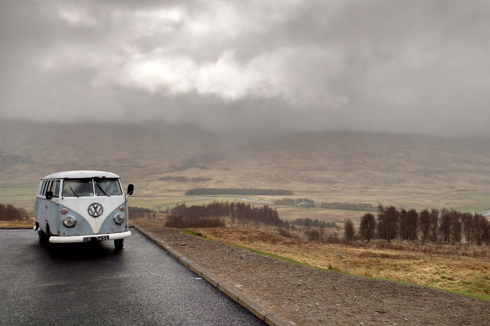 Camping in Scotland Laws