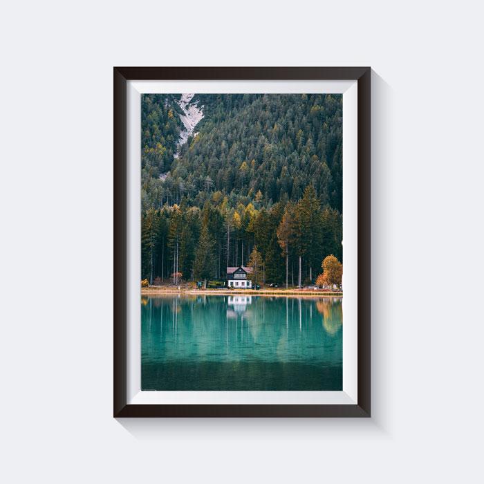 Lago di Dobbiaco Print
