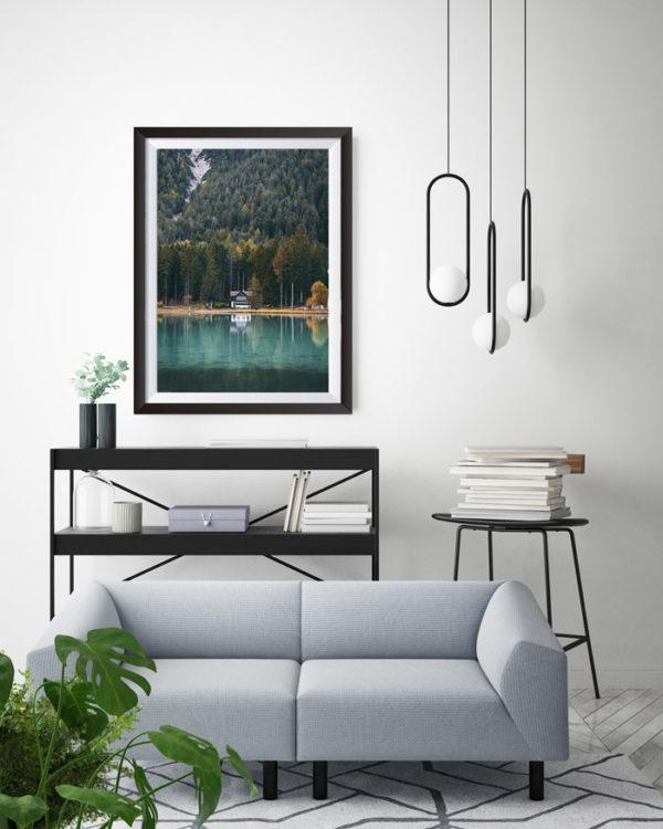 Italian Lake Print