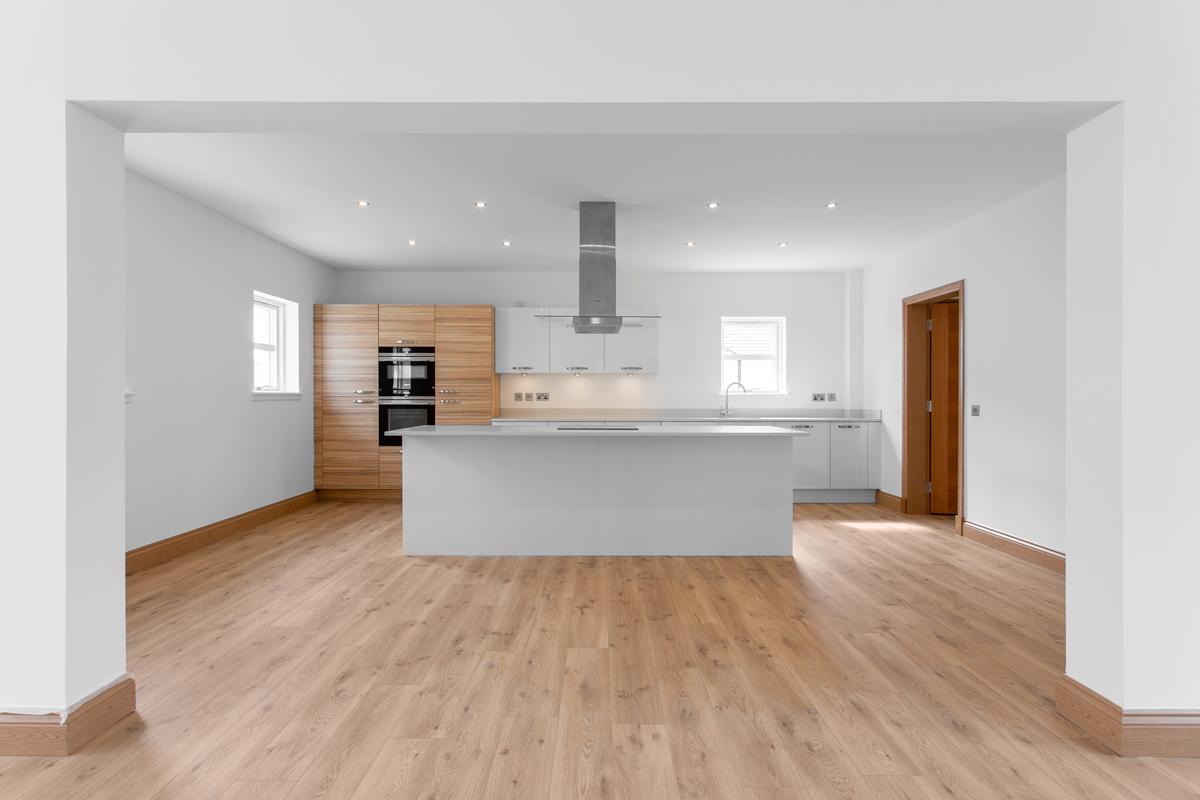 Edinburgh Interior Photography House with Kitchen