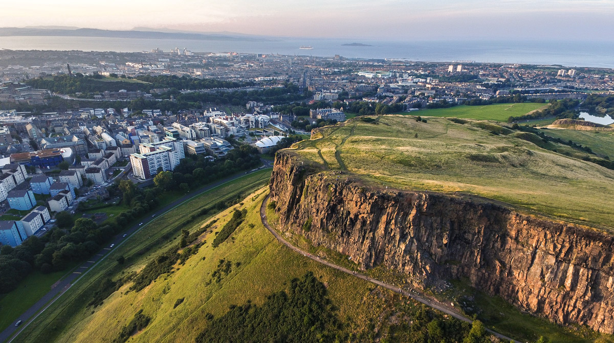 Salsbury Crags Edinburgh