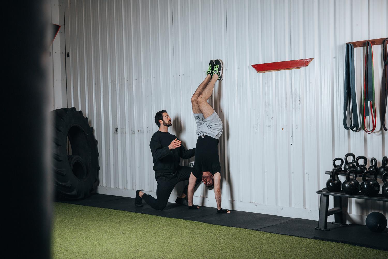 Matt Hill Handstand