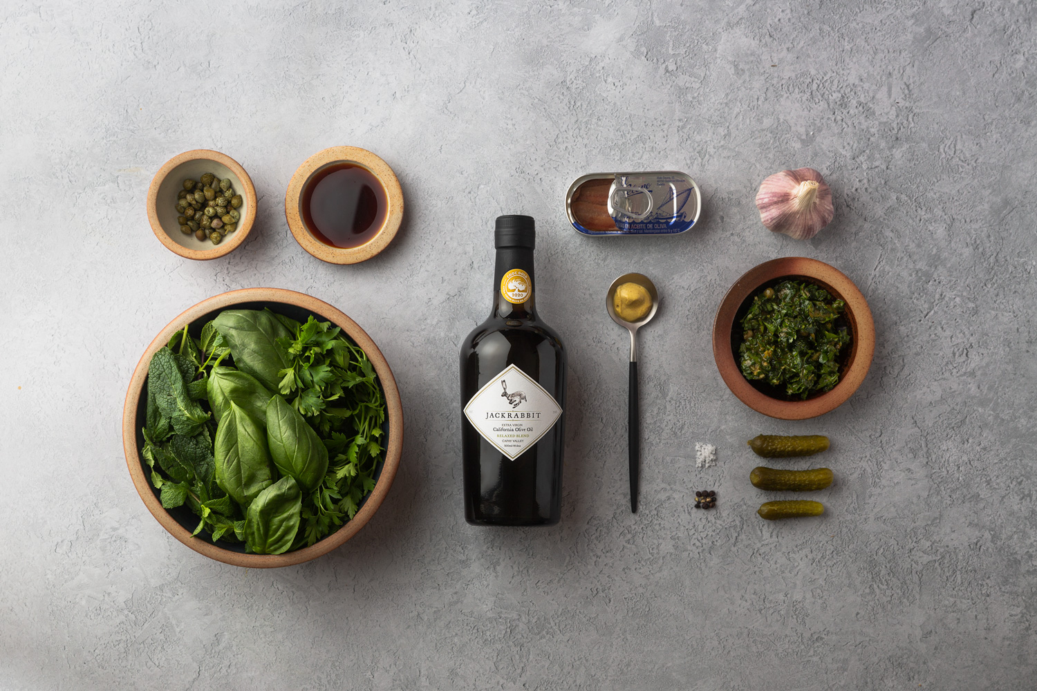 Olive Oil Product Photography