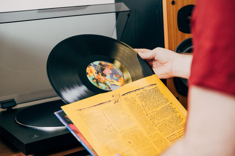 Vinyl Product Photography